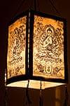 ロクタ紙 - 四面ランプシェード ブッダの商品写真