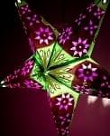 〔インドクオリティ〕星型ランプ