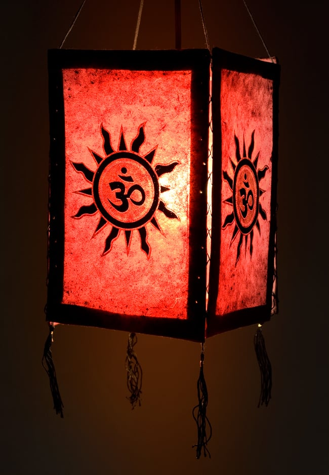 Tirakita rakuten global market lokta paper 4 side lamp shades on lokta paper lamp shade asian logo is printed lokta paper material is a traditional handmade paper of nepal who naturally attracts attention as an mozeypictures Image collections