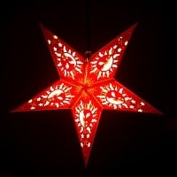 星型ランプシェード〔インドクオリティ〕 - スーリャ