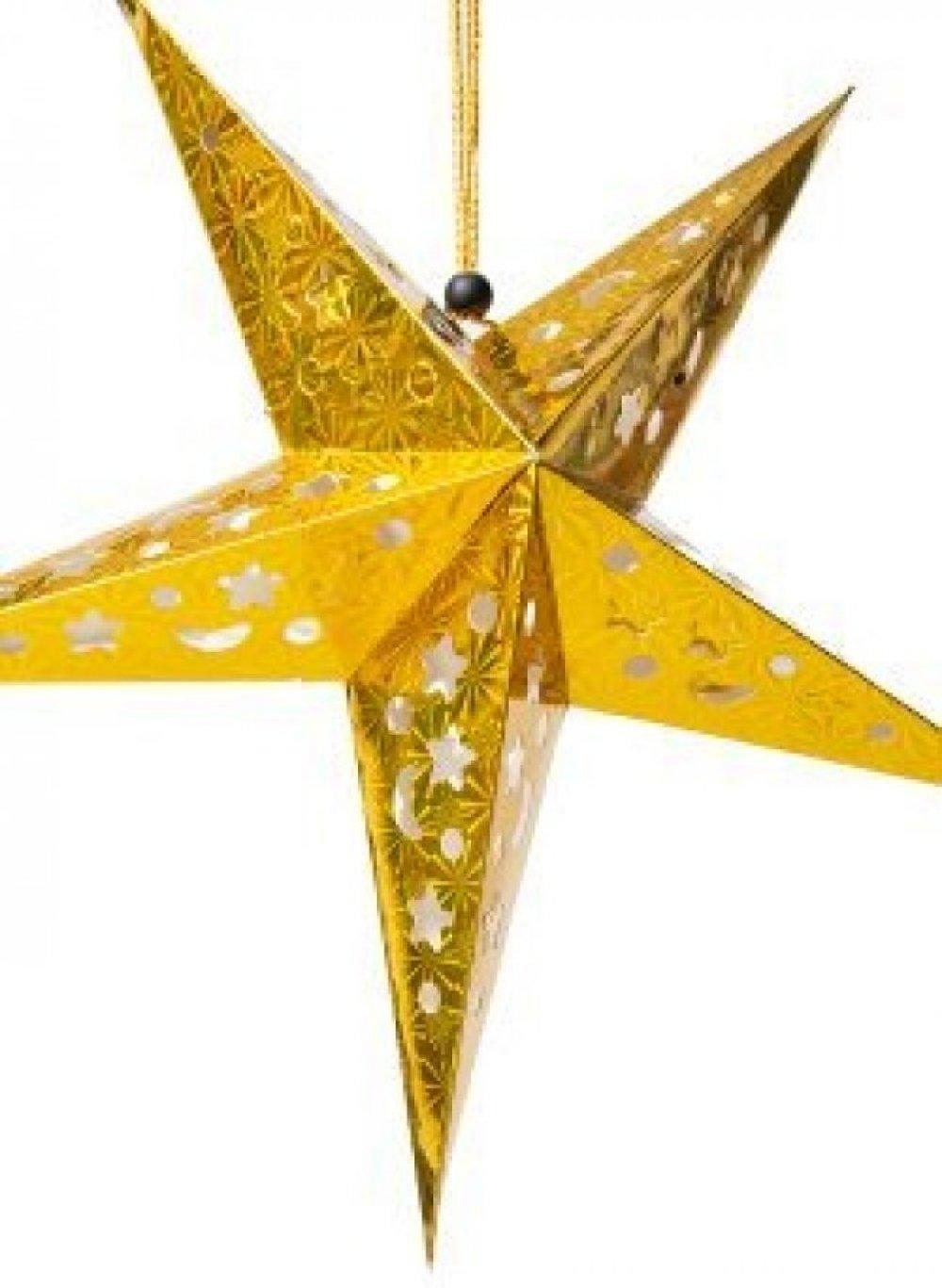 【選べる5個セット】星型ランプデコレーション - 直径:約55cm 8 - 明るい室内に吊るすだけでも楽しくなるデザインです