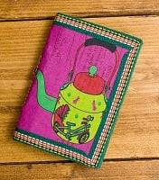 〈12.8cm×8.5cm〉インドの神様柄紙メモ帳 - やかん