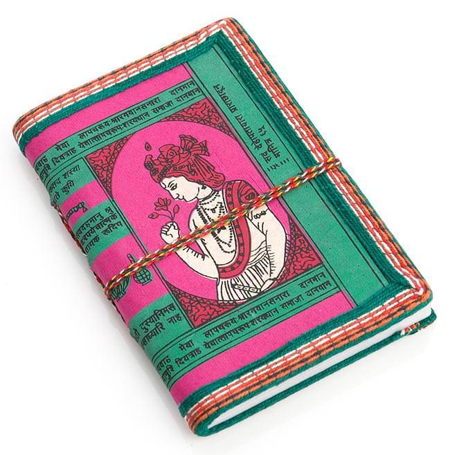 [アソート]インドの神様柄紙メモ帳 - インドの女性の写真