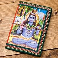 〈12.8cm×8.5cm〉インドの神様柄