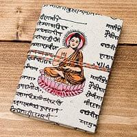 〈10cm×7.5cm〉インドの神様柄紙