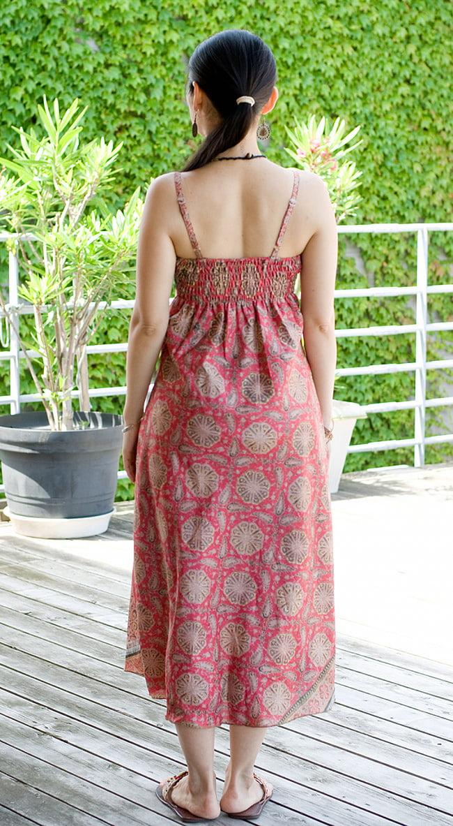 オールドサリーAラインサマードレス 5 - 後ろ姿です。