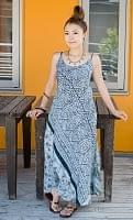 オールドサリーAラインサマードレス 【黒・グレー系】