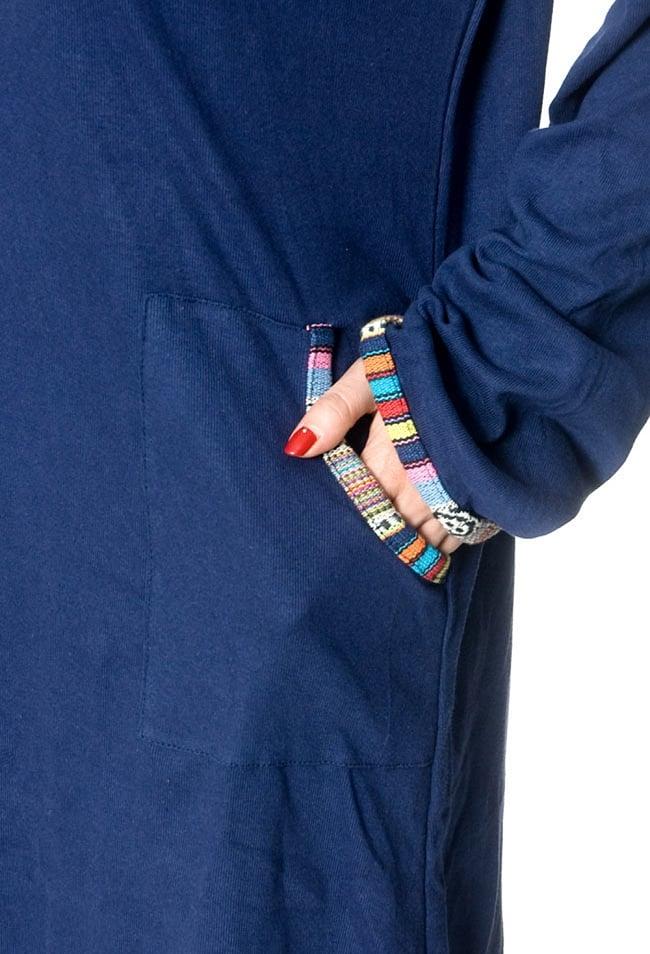 ゲリラインのコットンワンピース 8 - ポケットもあって便利です