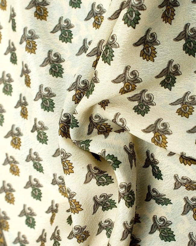 リバーシブル サリー生地タイパンツ 【ベージュ系】の写真5 - 柔らかい素材なので、とても履きやすいです。