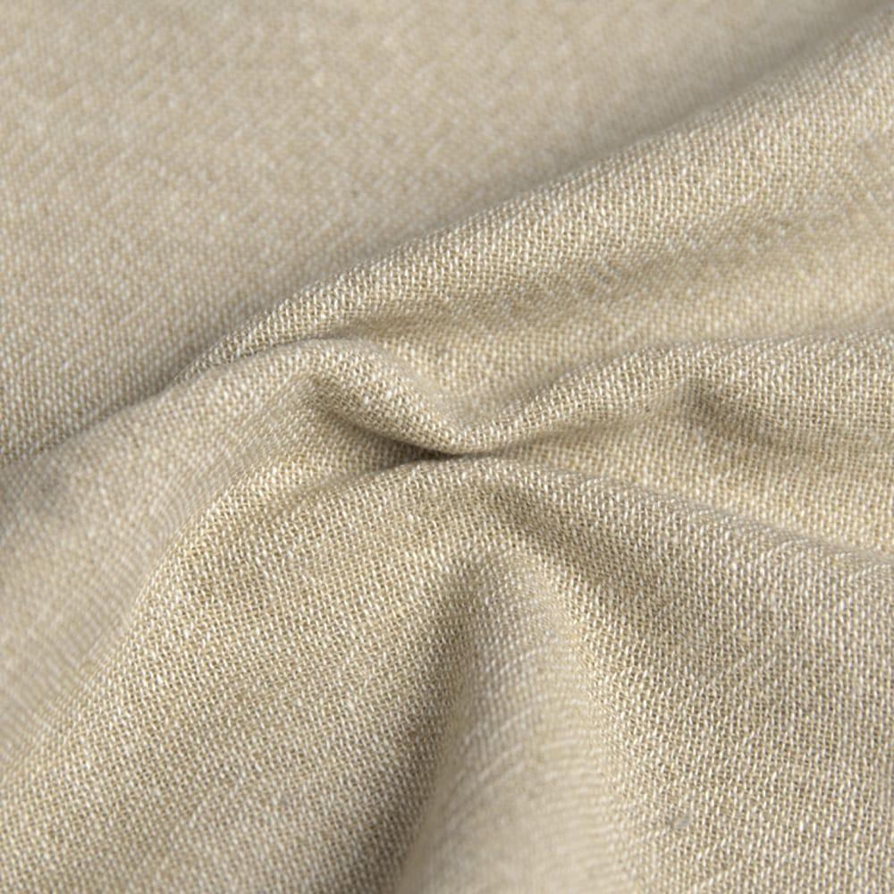 やわらかコットンのシンプルストレートパンツ 6 - 生地はとても柔らかくて気持ち良いです。