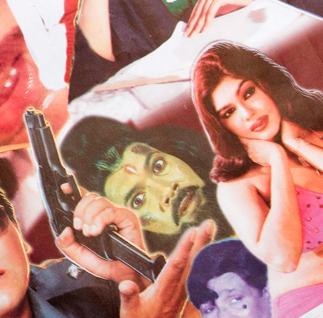 【一点物】バングラデッシュ 映画ポスター 4 - 拡大写真です。