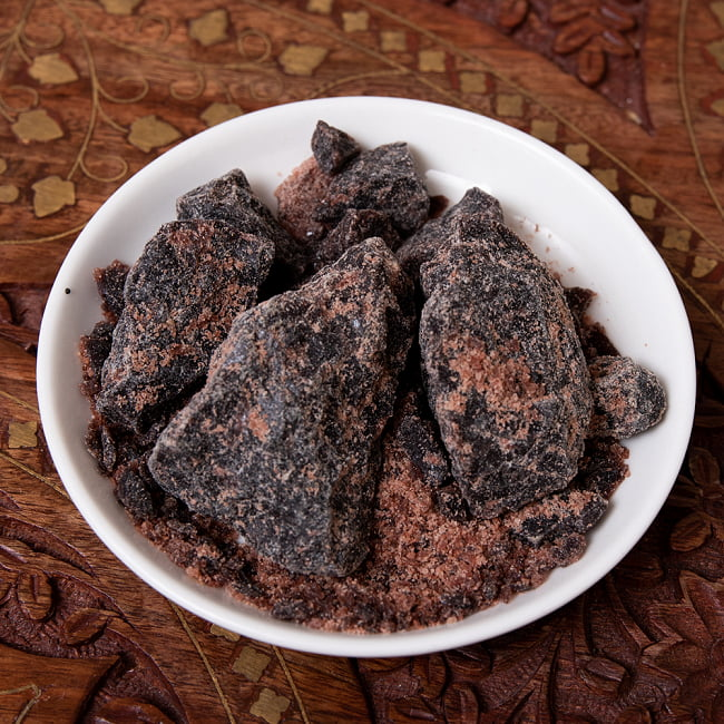 【食用】ブラック岩塩 ブロック(100G) 2 -