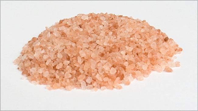 【食用】ピンク岩塩 粗め(100G)の写真