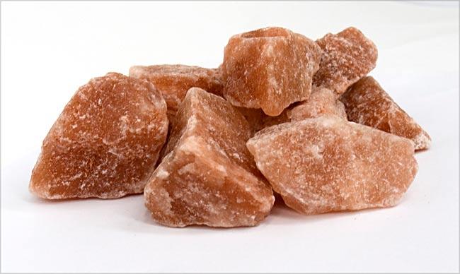 【食用】ピンク岩塩 ブロック (100G)の写真