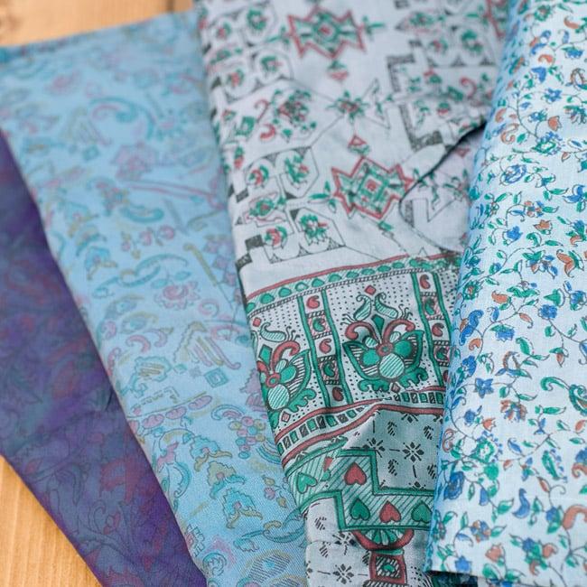 オールドサリーの半袖プルオーバーシャツ ブルー系の写真3 - アソート内容はこのようなイメージです。こちらは一部の色味なので、お届けする商品のお色味がこの限りではございません。