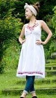 カラフル刺繍のキャミクルティ