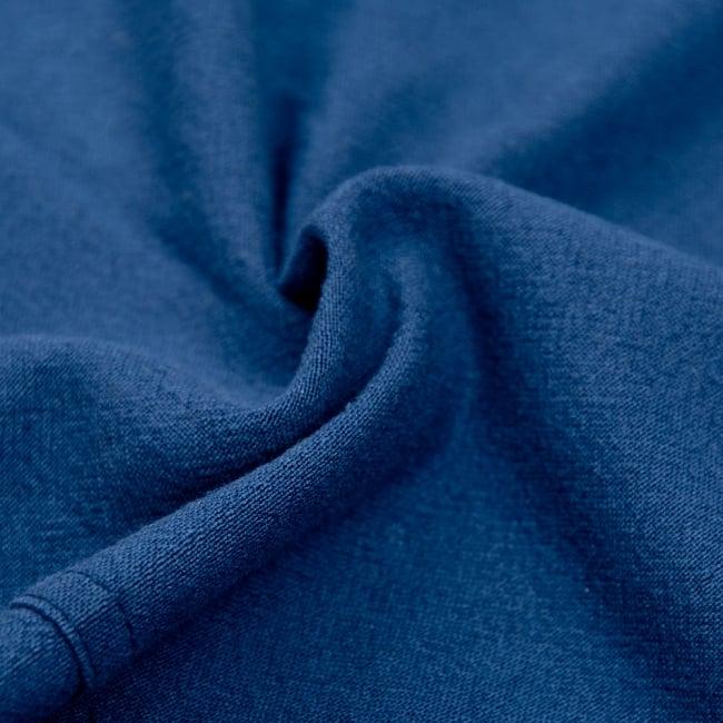 ゆったり着れるシンプルプルオーバー 5 - 生地は柔らかいコットンを使用しています。