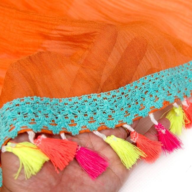 刺繍とタッセルのレイヤードキャミソール 9 - 生地は薄手なので、見えてもOKなインナーと合わせてお楽しみください。