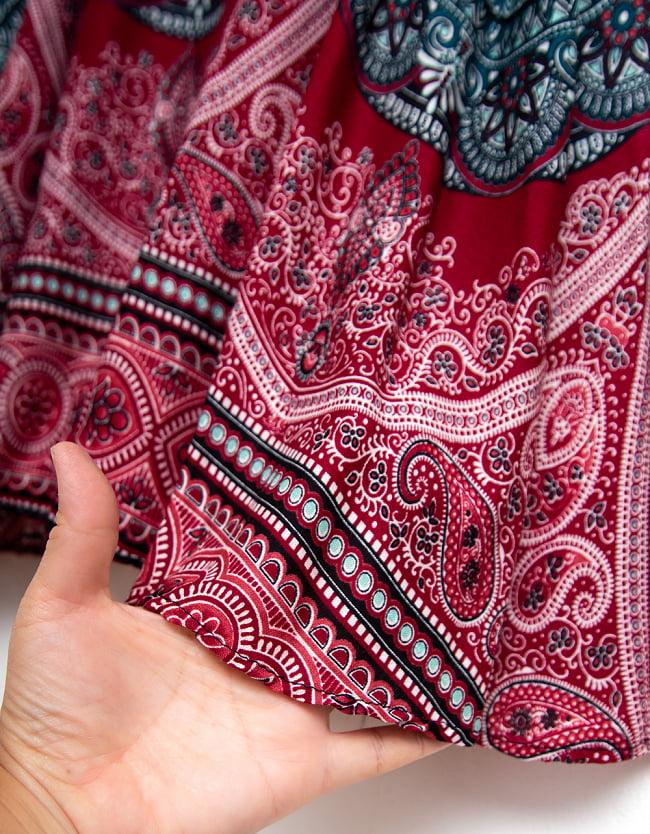 マンダラプリントのキャミソール 5 - サラサラした素材がとても着やすく蒸し暑い季節にぴったりです!