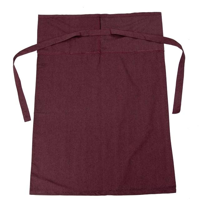 シンプルコットンタイスカート 【ロング】 10 - 選択5:赤茶