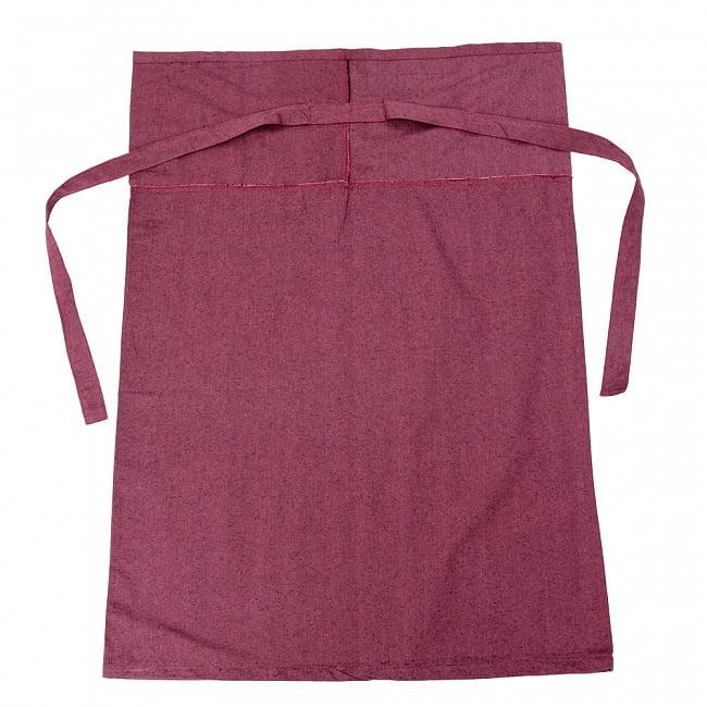 シンプルコットンタイスカート 【ロング】 12 - 選択7:小豆