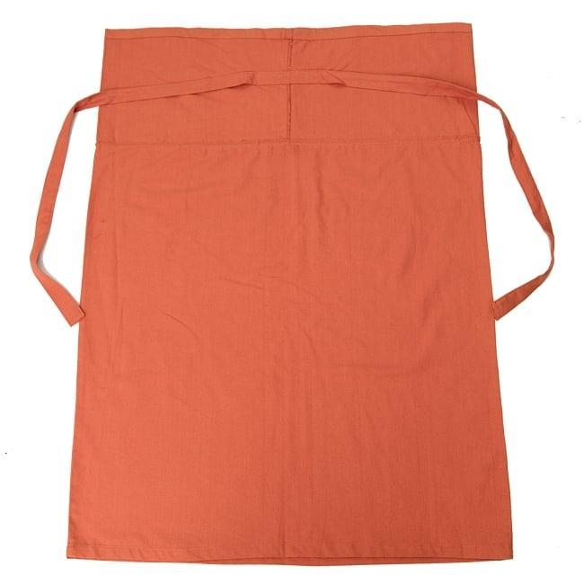 シンプルコットンタイスカート 【ロング】 7 - 選択2:オレンジ