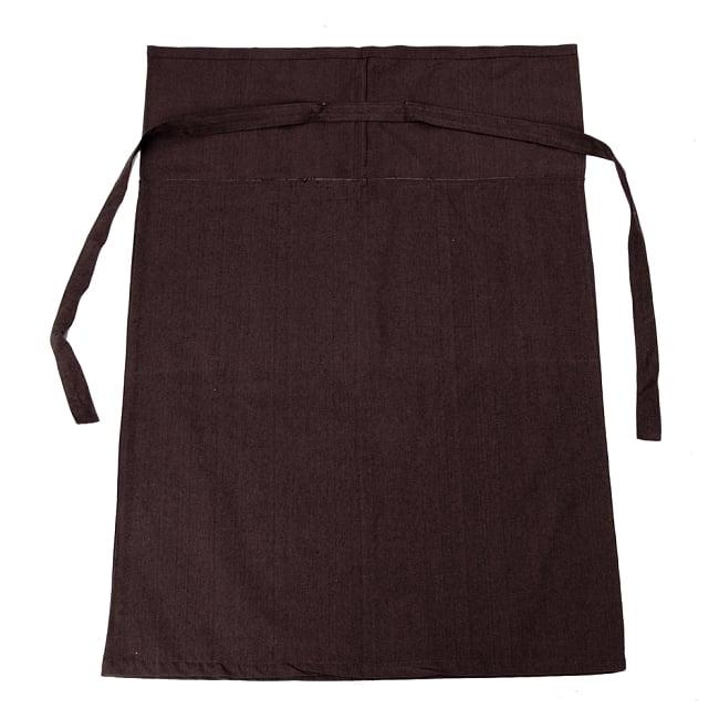 シンプルコットンタイスカート 【ロング】 9 - 選択4:ダークブラウン