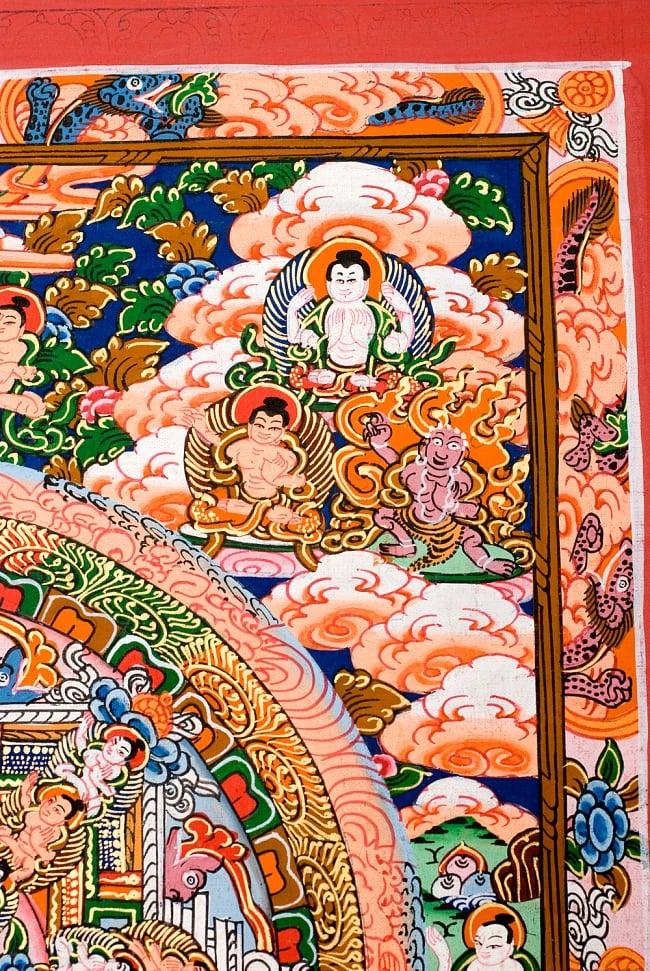 〔一点物〕タンカ -釈迦牟尼仏マンダラ 縦横36x29 4 - 別アングルです