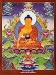 タンカのポスタ - Sakyamuni Buddhaの商品写真