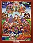 タンカのポスタ - Guru Rimpoche