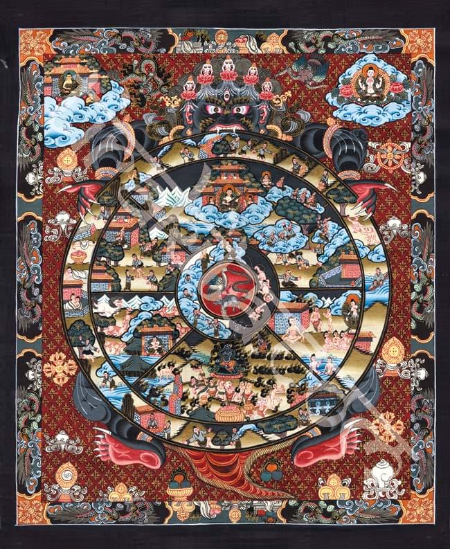 タンカのポスタ - Wheel of existanceの写真
