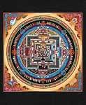 タンカのポスタ - Kala Chakra Mandala