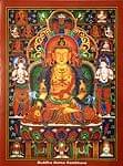 タンカのポスタ - Buddha Ratna Sambhava