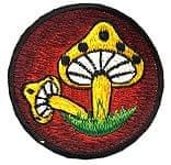 ネパールの刺繍ワッペン