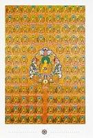 サキャムニ・ブッダのポストカードの商品写真