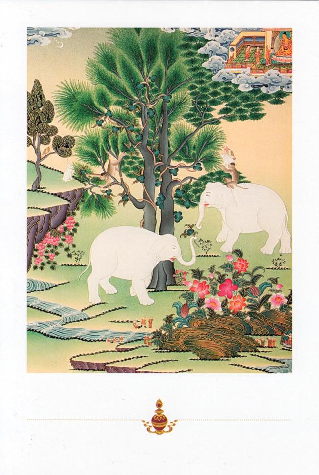 4人の親友のポストカードの写真