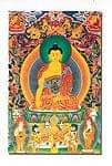 ブッダシャカムニのポストカード