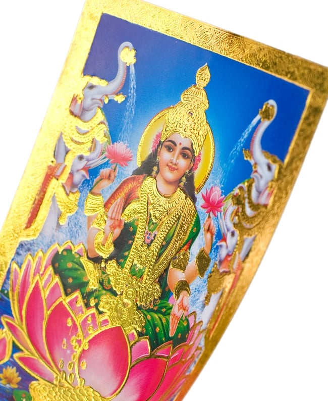 金の神様ポストカード-ラクシュミー 2 - このように美しく輝きます