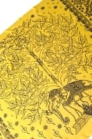 [200cm×100cm]生命の木と象のラムナミ 黄