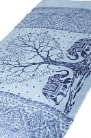 [200cm×100cm]愛の木と象のラムナミ 灰色