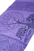 [200cm×100cm]愛の木と象のラムナミ むらさき