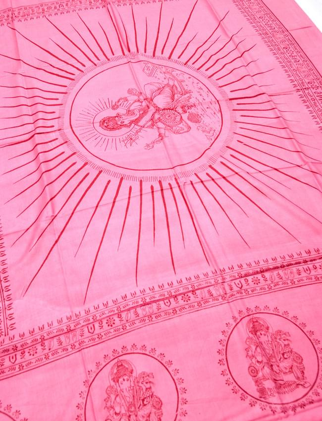 (190cm×90cm)高品質大ラムナミ - ピンク 2 - 柄の拡大写真です