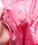 (190cm×90cm)高品質大ラムナミ - ピンク