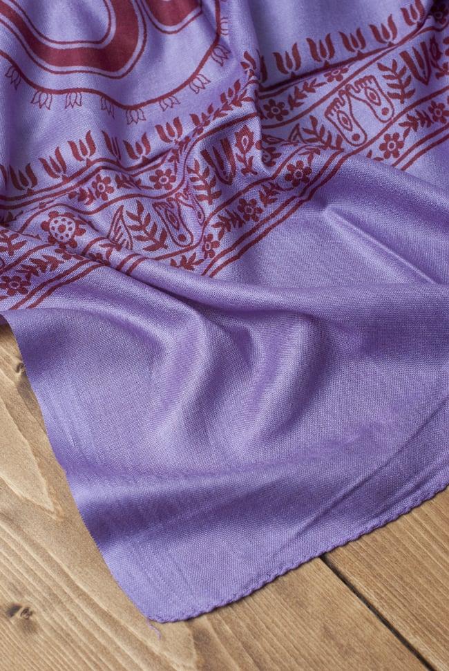 [200cm×100cm]オーンの大ラムナミ - 紫の写真3 - 縁の部分の写真です