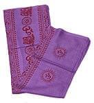 [190cm×100cm]オーンとサンスクリット文字の大ラムナミ - 紫