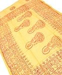 [約125cm×50cm]インド薄ラムナミ【小】 - イエロー