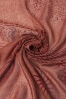 [約180cm×40cm]インド薄ラムナミ【ロング】 - テラコッタ