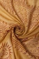 [約180cm×40cm]インド薄ラムナミ【ロング】 - ターメリック