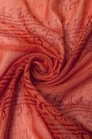 [約180cm×40cm]インド薄ラムナミ【ロング】 - サーモンオレンジ