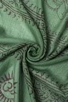 [約180cm×40cm]インド薄ラムナミ【ロング】 - 緑